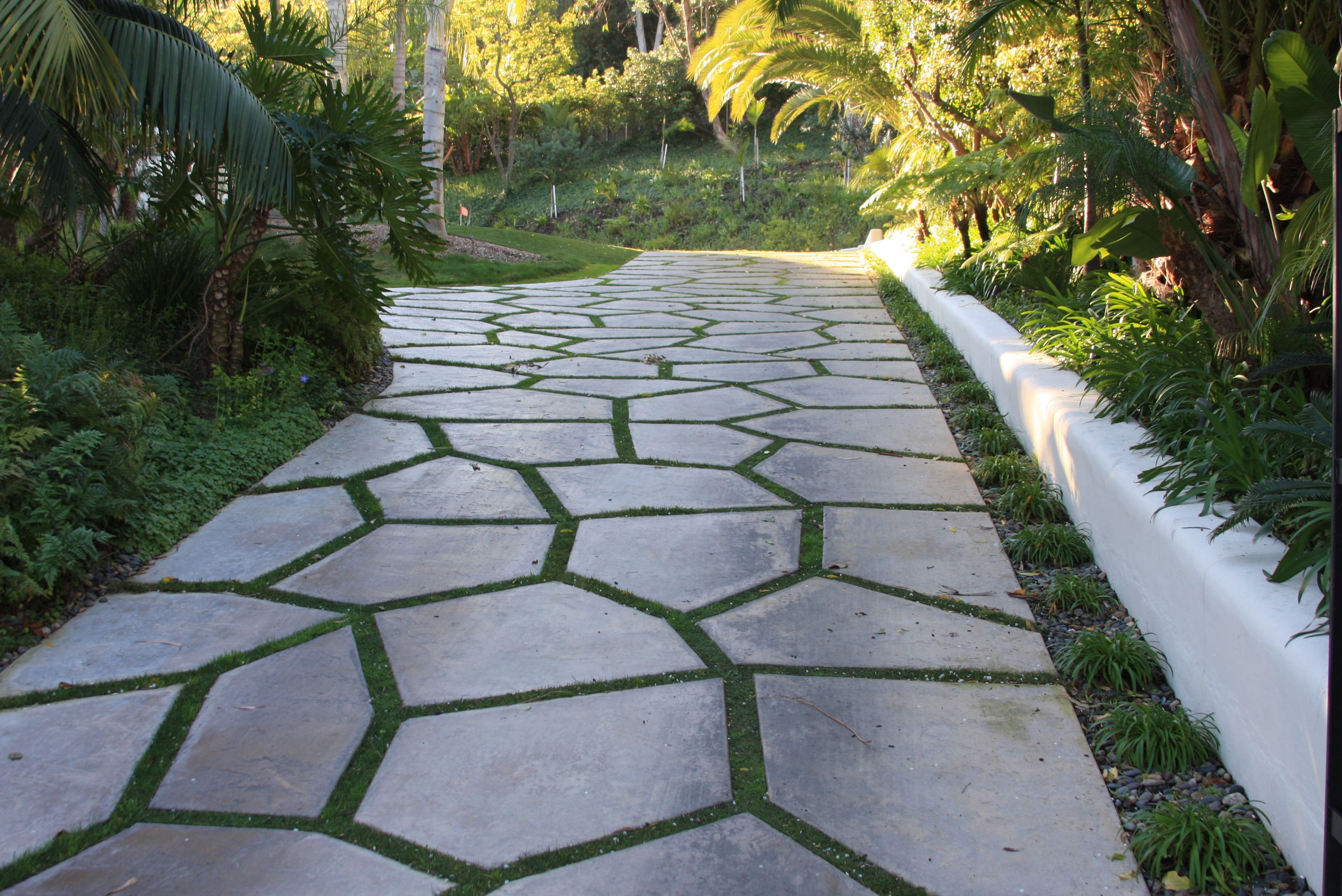 Semi Circle Paver Driveway House And Plan Pinterest