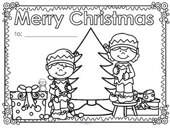 ***FREE*** Christmas posters or greeting cards to decorate