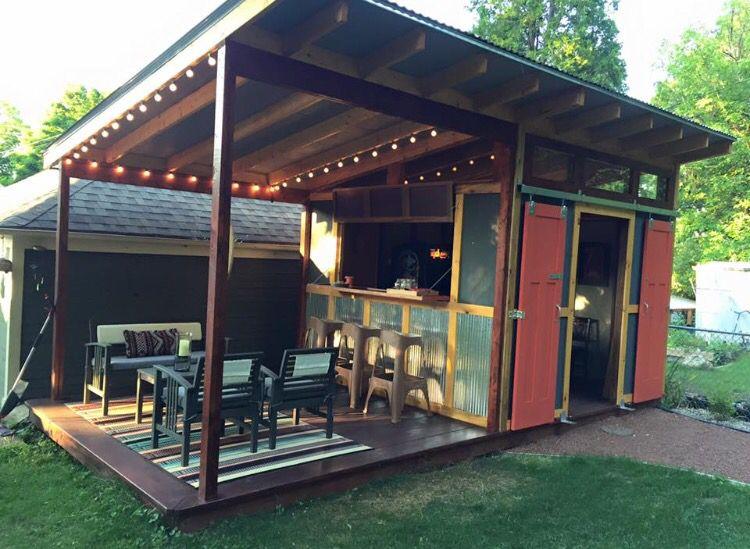 Dream backyard bar