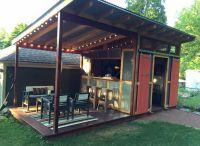 Dream backyard bar   Backyard Gardening Gazebo   Pinterest ...