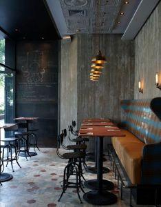 Le matto bar restaurant  shanghai ideasrestaurant interiorspizza restaurantsmall designpizzeria also rancho pinterest rh