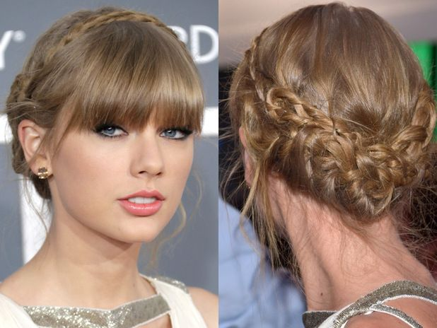 Step By Step Tutorial For Taylor Swift's Braided Updo Grammy's
