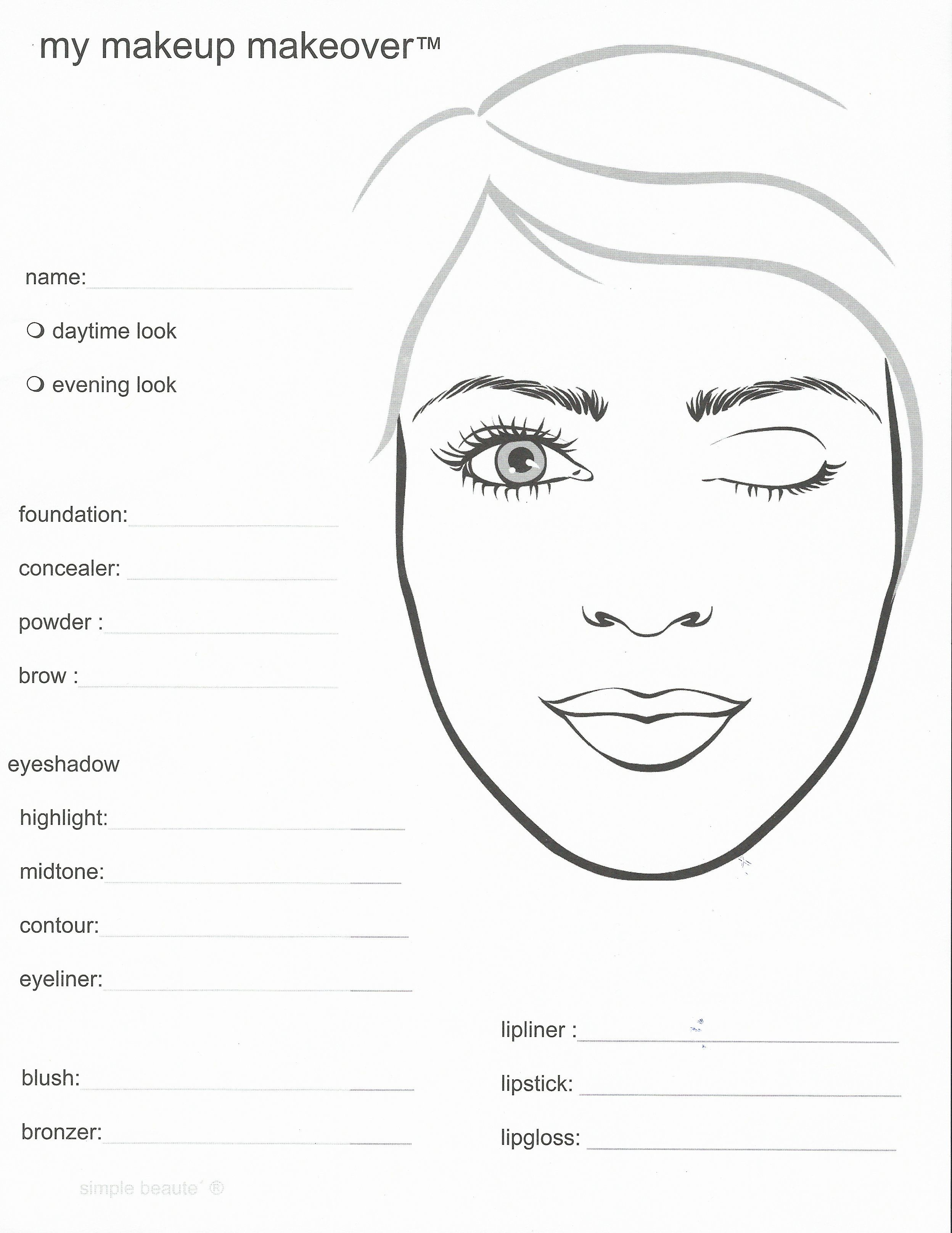 Mary Kay template. As a Mary Kay beauty consultant I can