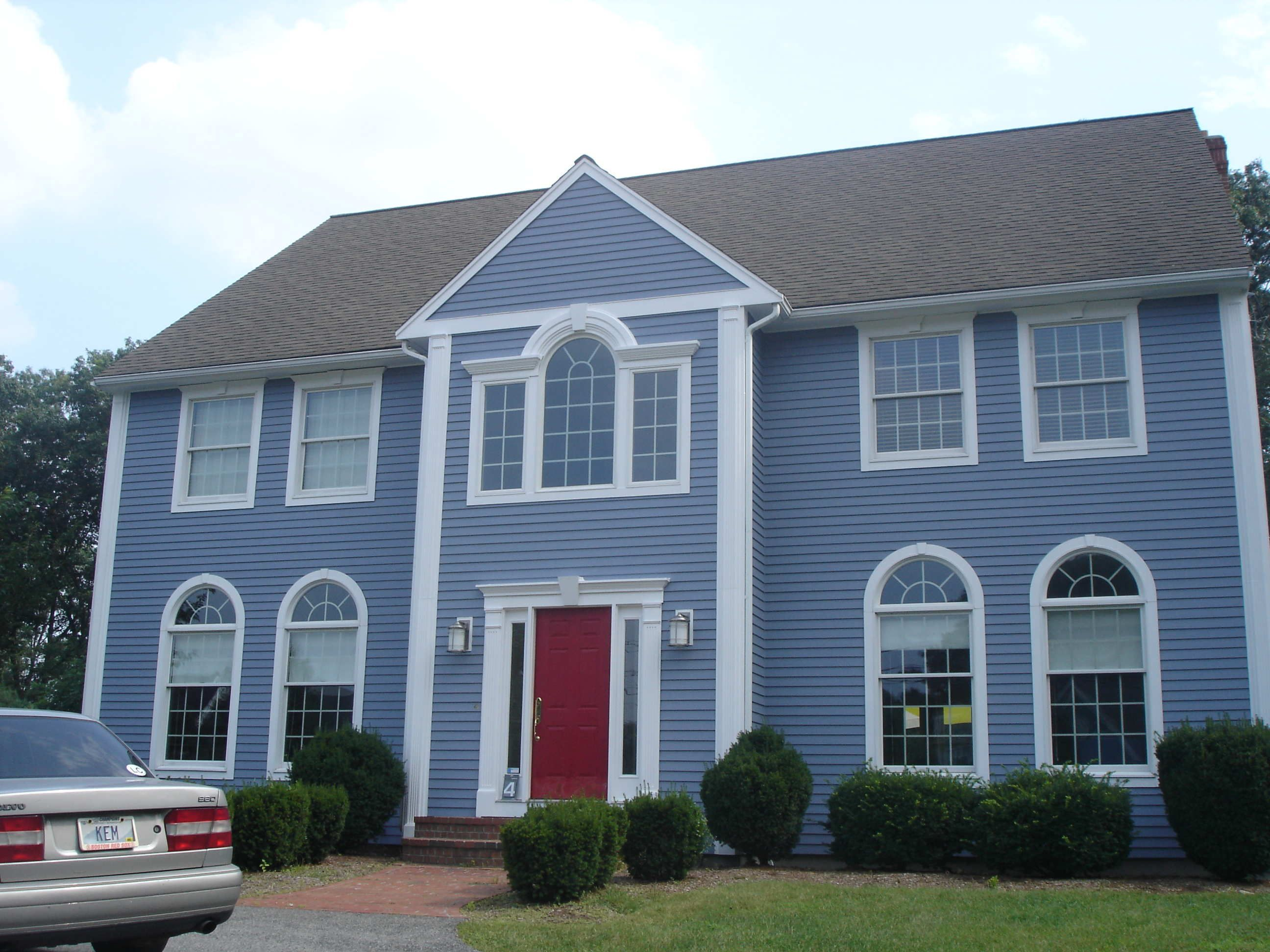 Blue Exterior House Paint Colors At CertaPro Painters Of