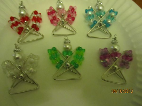 Paperclip Angels Crafts Angel