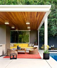 21 Stunning Midcentury Patio Designs For Outdoor Spaces ...