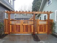 gates with pergola - Google Search | For the Home ...
