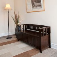 Entry Bench - from Just Storage Benches - Acadian Entryway ...