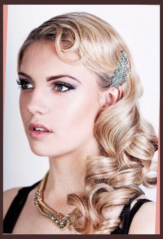 Flapper Hairstyles On Pinterest Headband Bun 1920s Hair And
