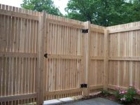 Vertical Wooden Fence Gate Designs Wooden Fence Gate