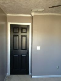 Black Painted Trim and Doors | Sherwin Williams paint, the ...