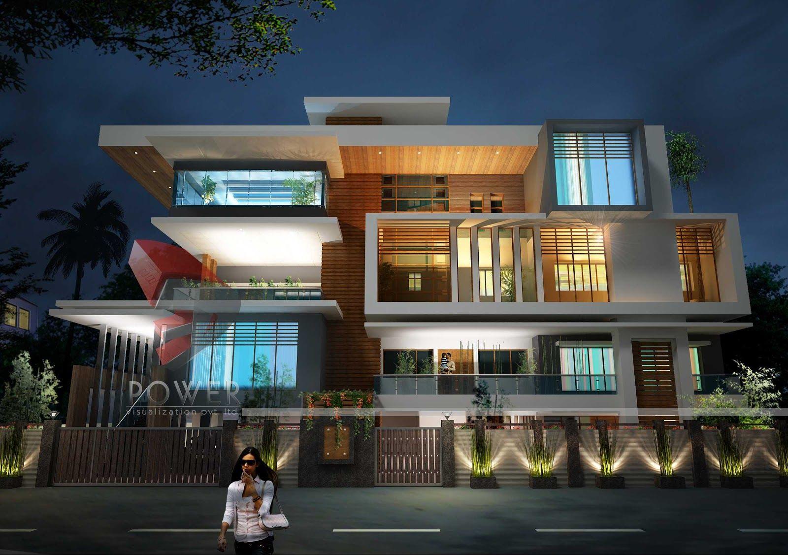 Indian House Front Porch Design