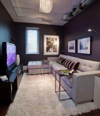 Small space interior: Urban living | Small den, Tv tables ...