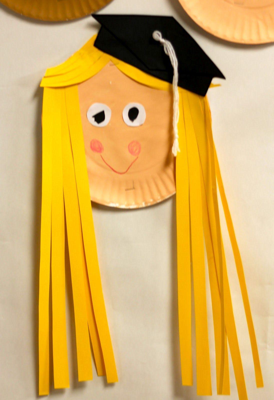 Graduation Craft For Preschool Or Kindergarten