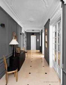 Walls also gris blanc pinterest interiors hall and entrance halls rh