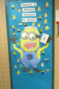 Love of Reading Week door decoration. Submitted by Renee ...