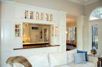 Open Divider Between Kitchen and Living Room