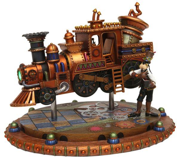 Steampunk Mechanical Kingdom Disney