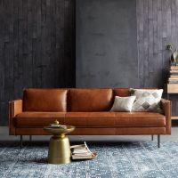camel leather sofa - Google Search | a m b i e n t ...