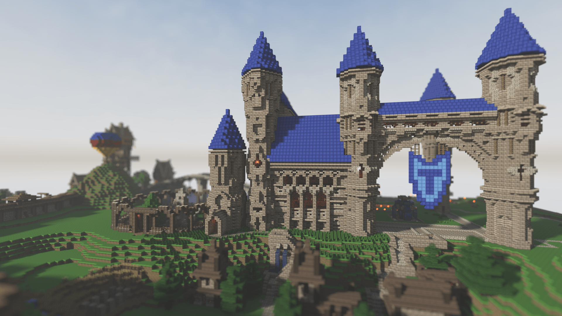 Storm Hold Minecraft Castle