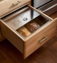Base Bread Box Drawer | Kitchens: Classically Traditional ...