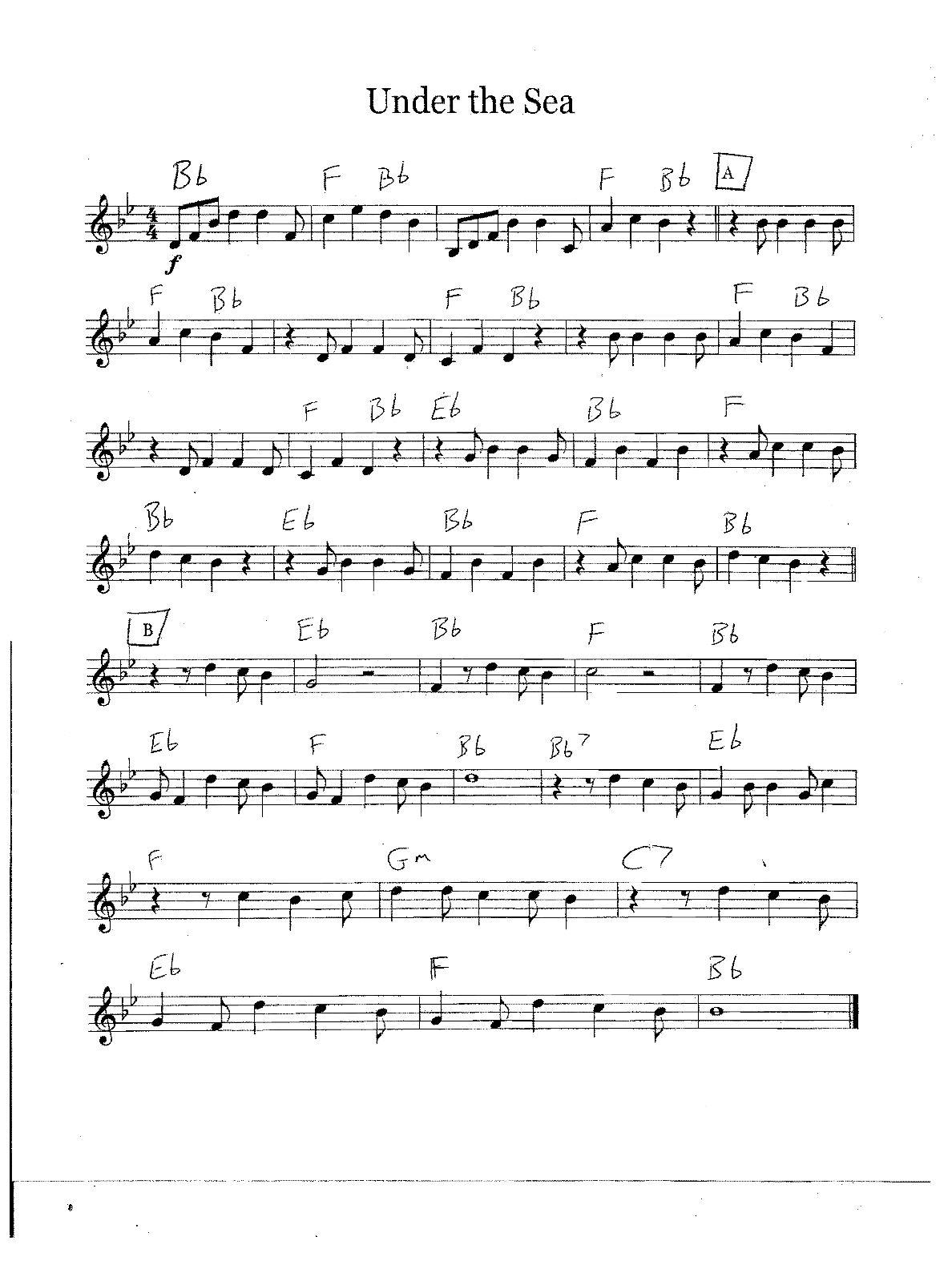 Free Bass Guitar Sheet Music