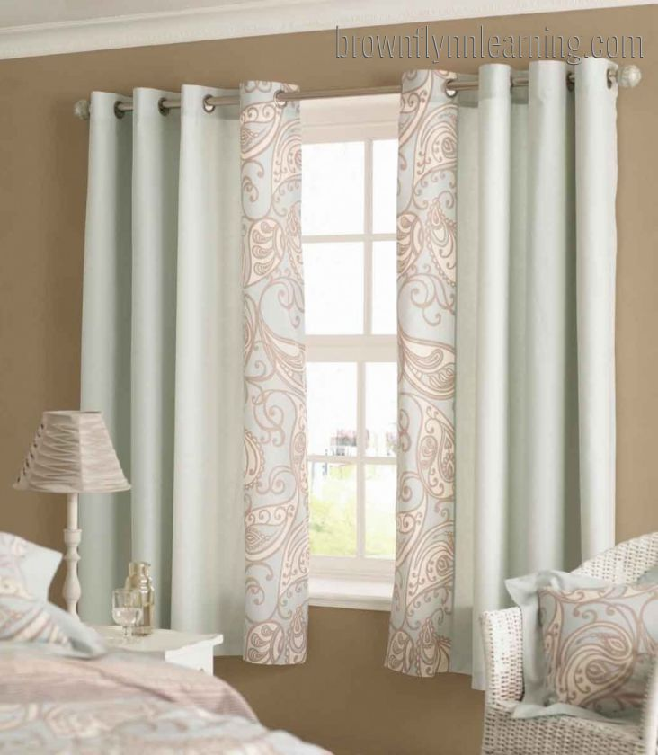 Bedroom Window Curtains Short Homeminimalis  Short