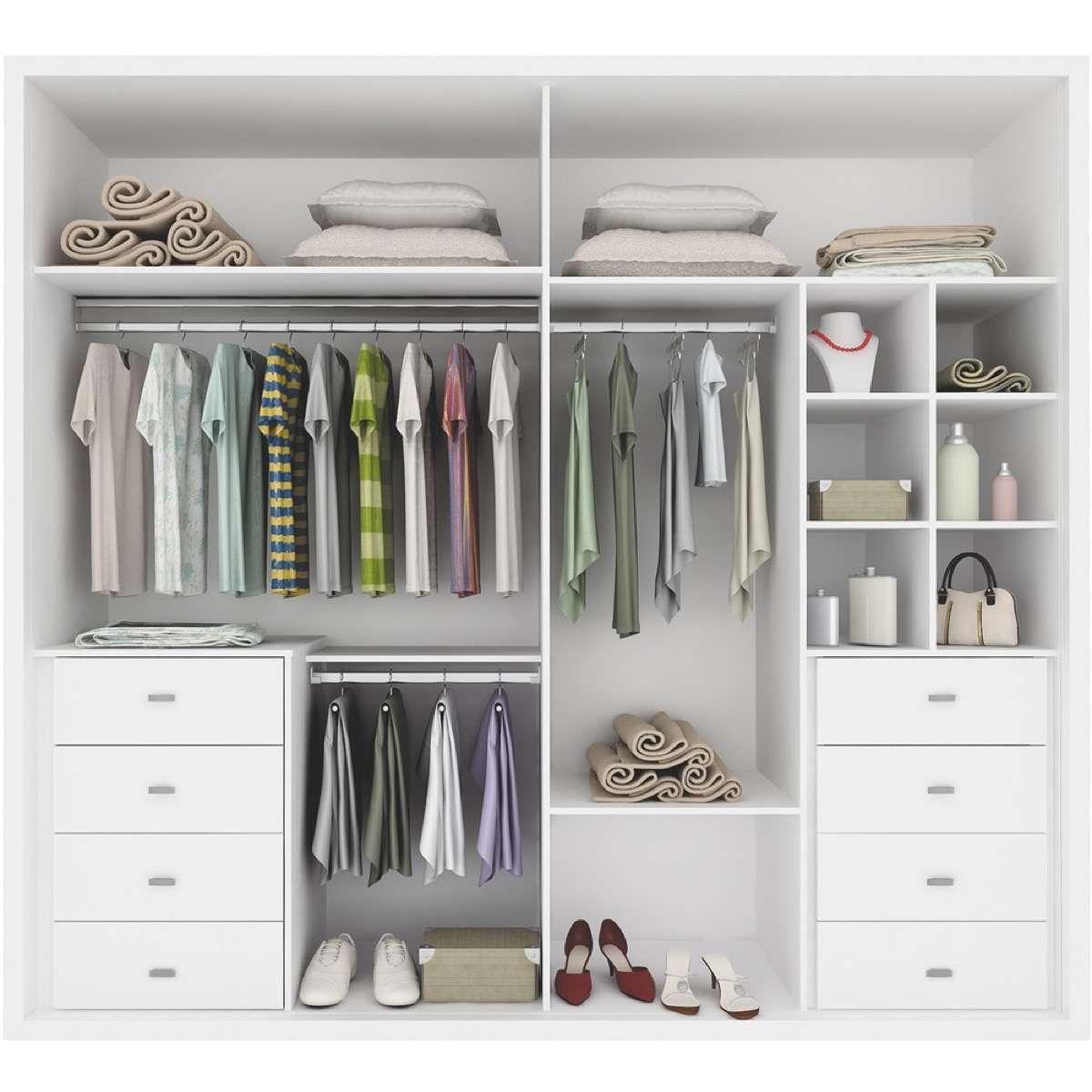 Distribucin de armarios cmo organizar la ropa para