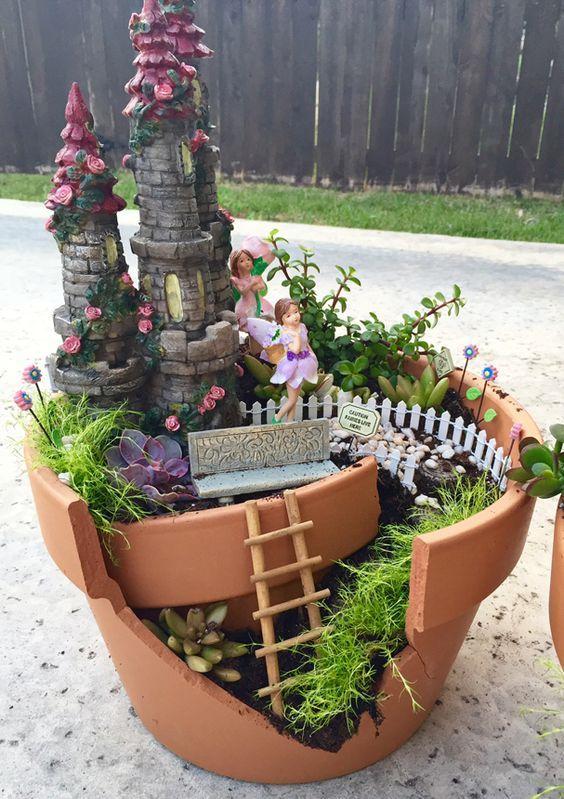 16 Do It Yourself Fairy Garden Ideas For Kids Disney Garden