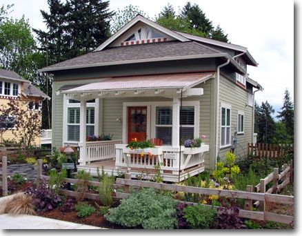 I Love This Little House With The Big Front Porch Or At Least