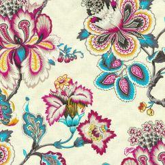 Printed Fabric Sofa Designs Sleeper San Francisco Home Decor Print Hgtv Bespoke Blossoms