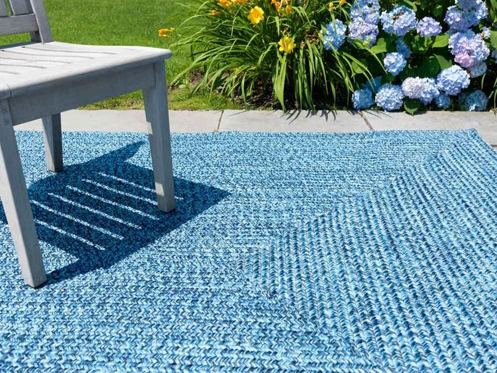 Blue Indoor Outdoor Rug