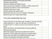 event planning checklist template | Event Planning ...