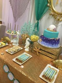 Mermaid themed baby shower Baby Shower Party Ideas   Baby ...