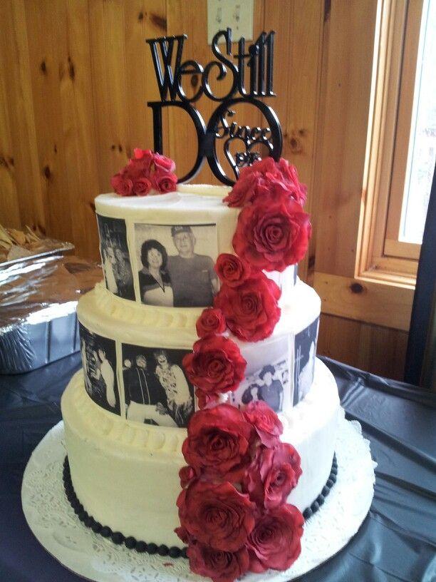 Anniversary 40th Flower Wedding