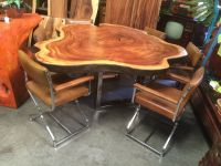 Save on rustic dining tables and furniture made from solid ...