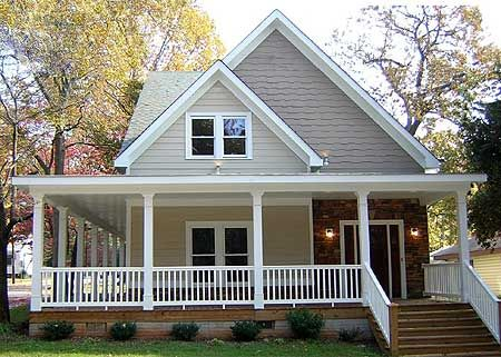 Plan 58547SV Sophisticated Country Cottage House Plans Wraps