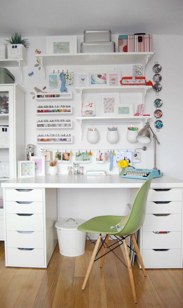 Ikea Craft Rooms  10 Organizing Ideas from REAL Ikea