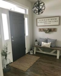 farmhouse entryway paint color