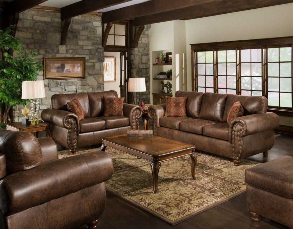 Furniture:Living Room Color Schemes With Brown Leather