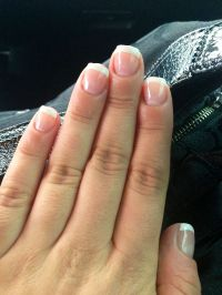 French Manicure Gel Overlay | Hair & Nails | Pinterest ...