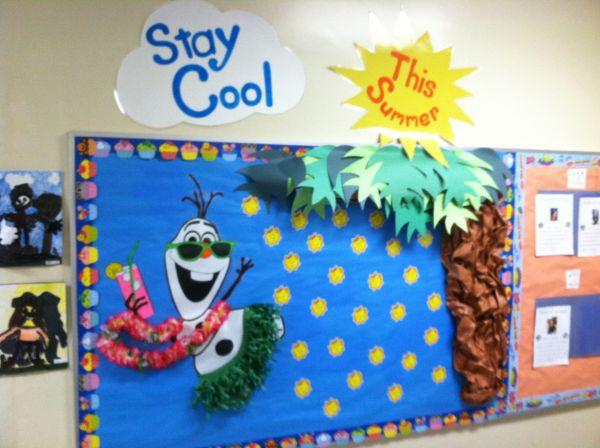 Pinterest Summer Bulletin Board Ideas