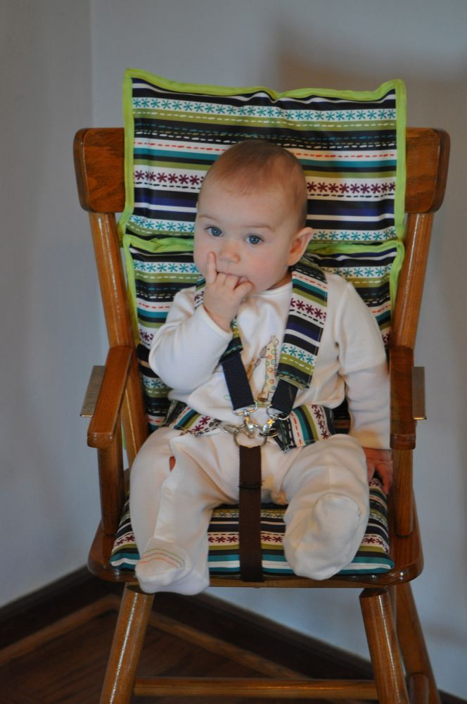 DIY High Chair Harness System Craft Projects Pinterest