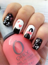 MEOW! 40 Kitty Cat Nail Designs | Cindy's crafts ...