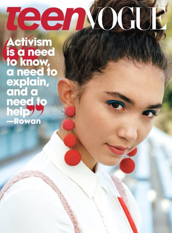 Blanchard Rowan Teen Vogue Magazine