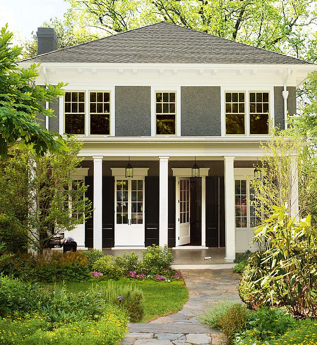 Benjamin Moore Simply White The Color Of The Year Home Exterior