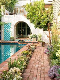 Pretty and Practical Backyard Ideas | Spanish style, Patio ...