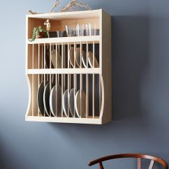 Wooden Kitchen Plate Rack Cabinet Hotel With Hong Kong And Shelf Racks