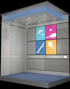 Elevator interior design custom cabs also within rh it pinterest