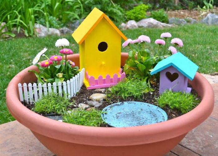 Diy fairy garden great spring gardening activity for kids we are making one this weekend also real life day at  time planting ideas